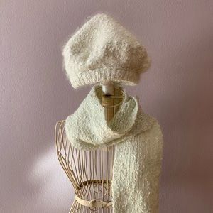 Accessories - ❗️⬇️ Mohair set Beret & Scarf
